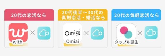 アプリ 併用